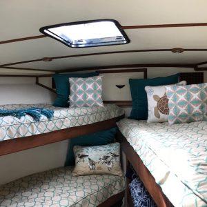 Bertram 46 Bedding