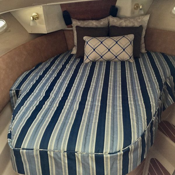 Blue-Striped-Topper-Sleep-System