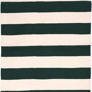 Catamaran Stripe Pine Ivory Indoor Outdoor Rug