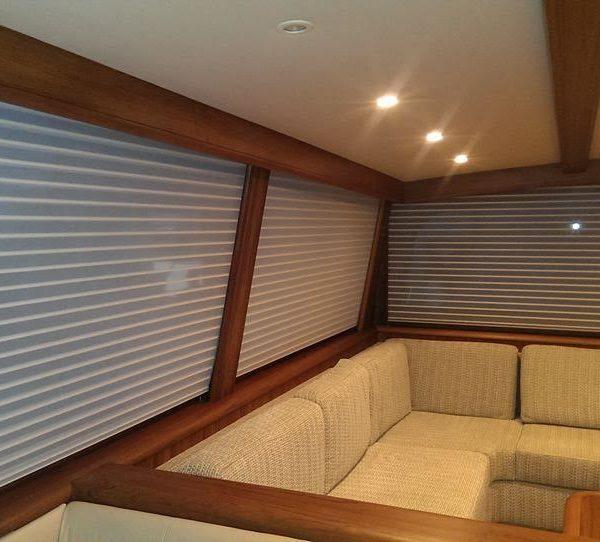 Custom Yacht Blinds and Shades