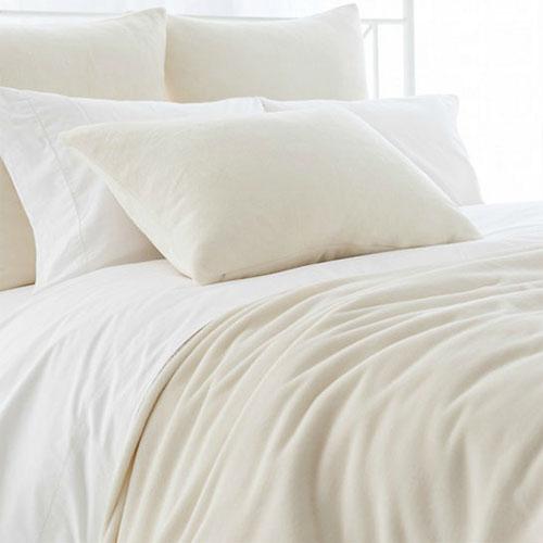 Fleece Ivory Blanket