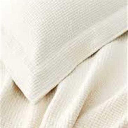 Interlacken Ivory Matelasse Blanket