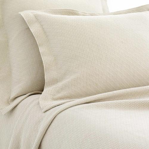 Interlacken Sand Matelasse Blanket