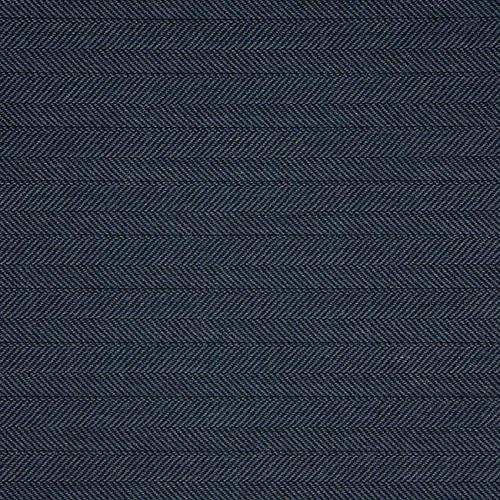 Navy Tweed Throw Pillow