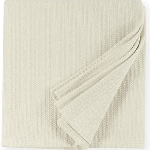 Sferra Grant Ivory Blanket