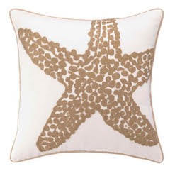 Starfish boat pillow