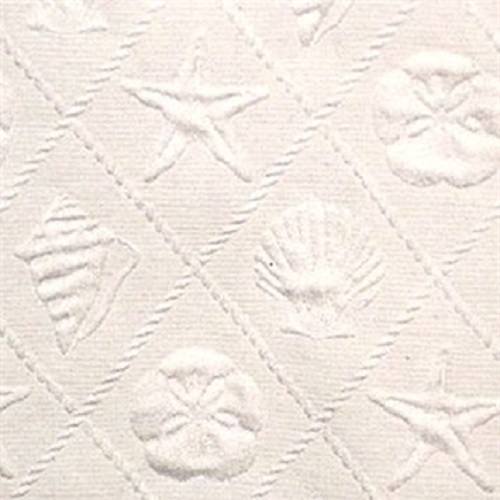 Trellis Cream Bedcover & Shams