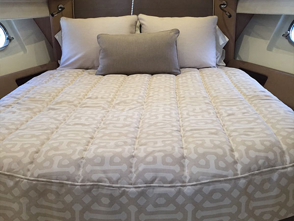 Custom Boat Bedding Made Easy Yacht Mattress Sheets