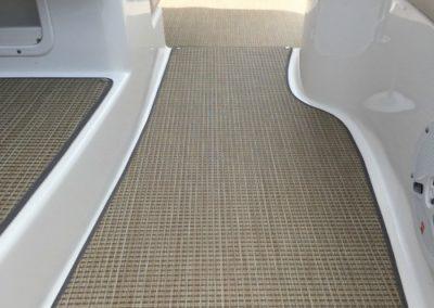 Yacht Flooring Beige Hallway