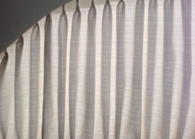 Yacht Blinds Grey Solid Rounded