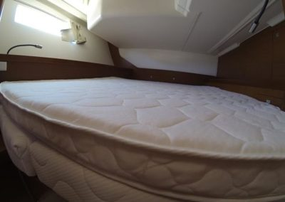 Yacht Mattress with Small Corner Close-Up