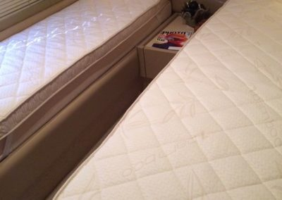 Yacht Bamboo Custom Mattress Half Twin Size