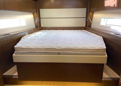 Yacht mattress topper