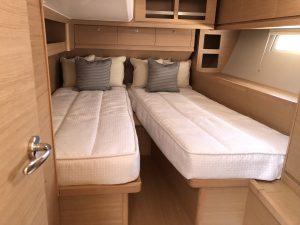 Dufour 520 Guest Bedding