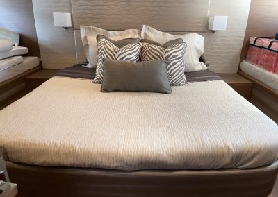 Beneteau custom bedding