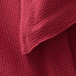 Interlaken Brick Matelasse Blanket