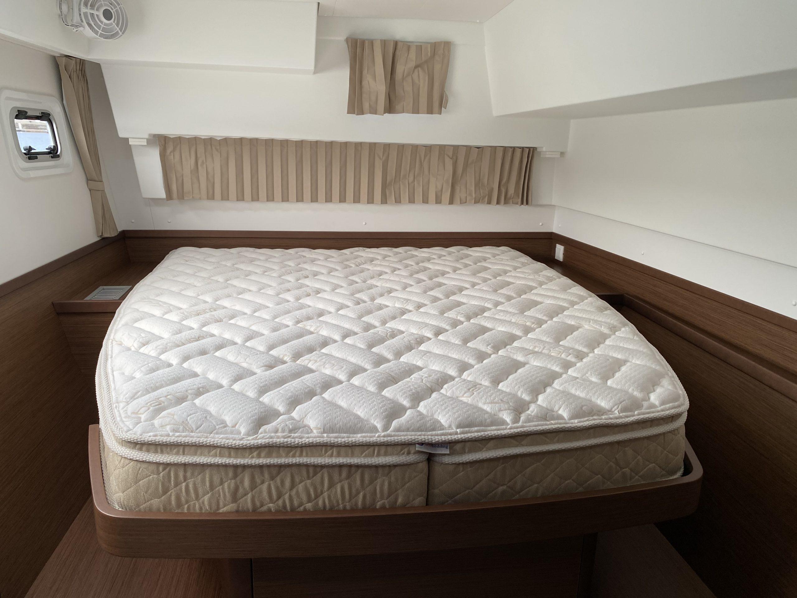 Lagoon yacht mattress