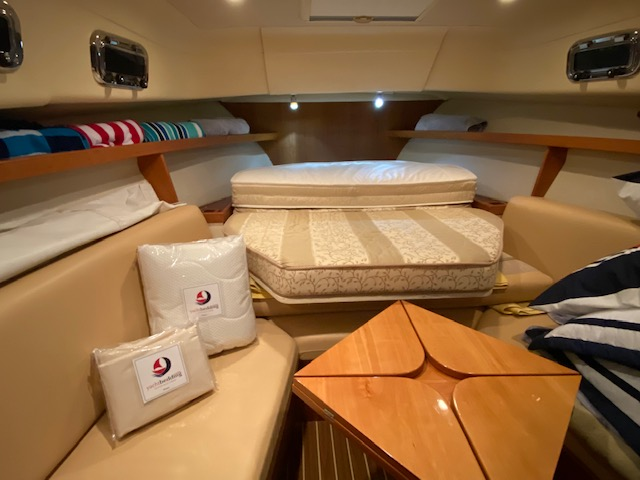Mainship 30 Folded Mattress