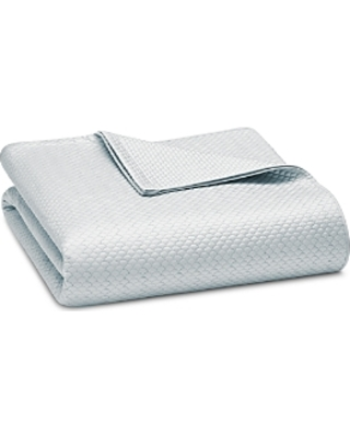 Matouk Alba Silver Bed Cover