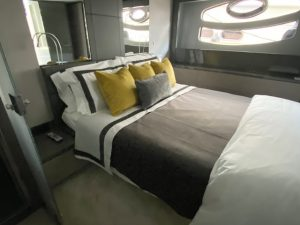 Pershing 62 Master Bedding