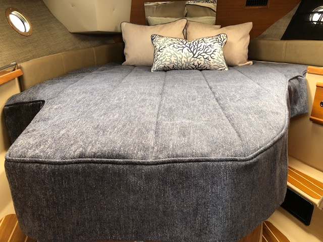 Ranger Tug 29 CB Custom Bedding