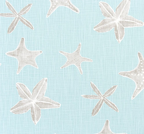 Sea Stars Haze Throw PIllow