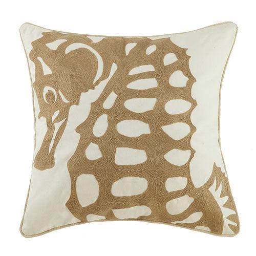 Seahorse Throw Pillow Yachtbedding Com