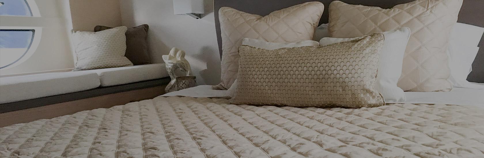 Custom Boat Bedding Made Easy Yacht Mattress Sheets Linens Central