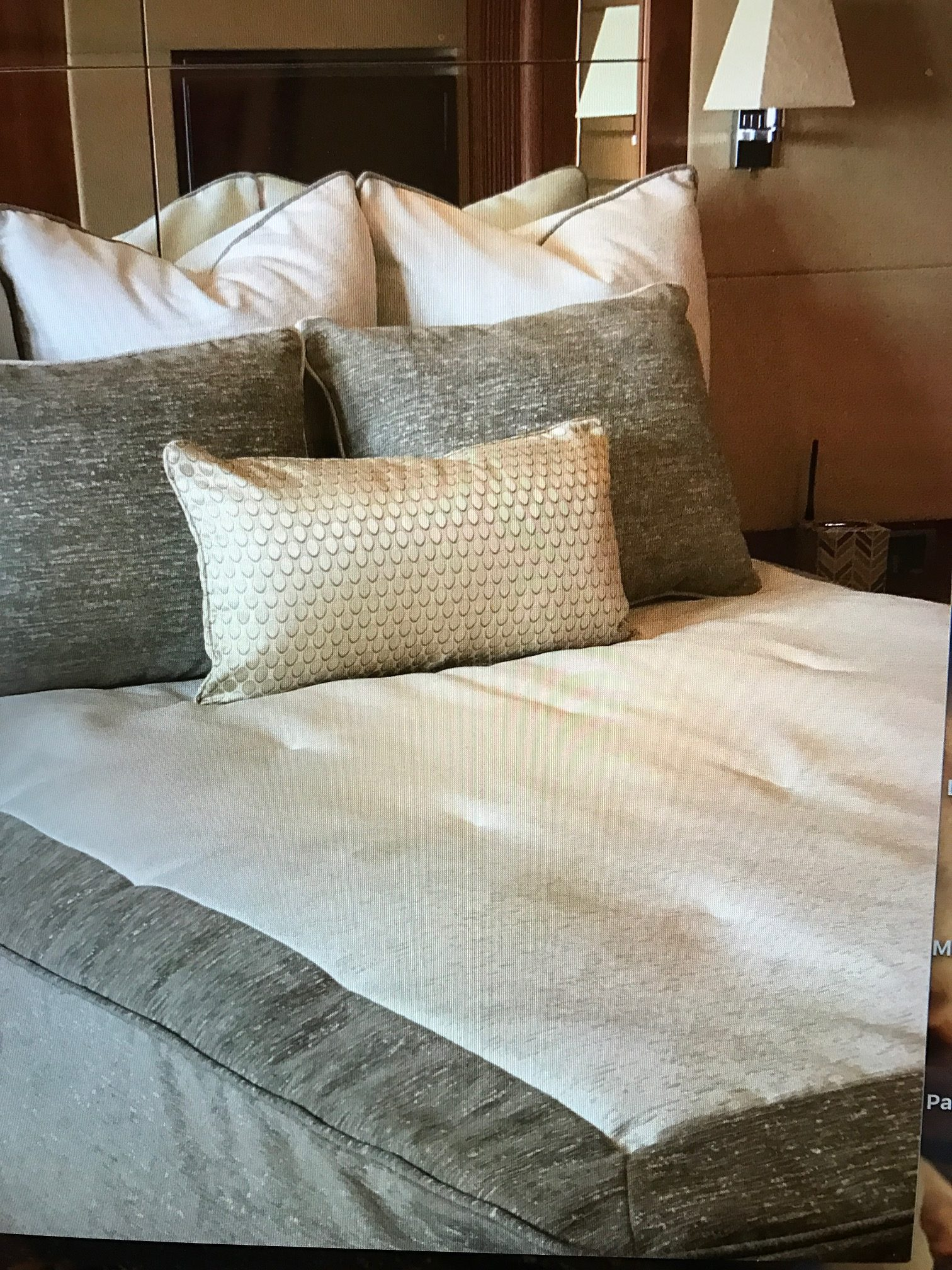 Sunseeker Master Bedding