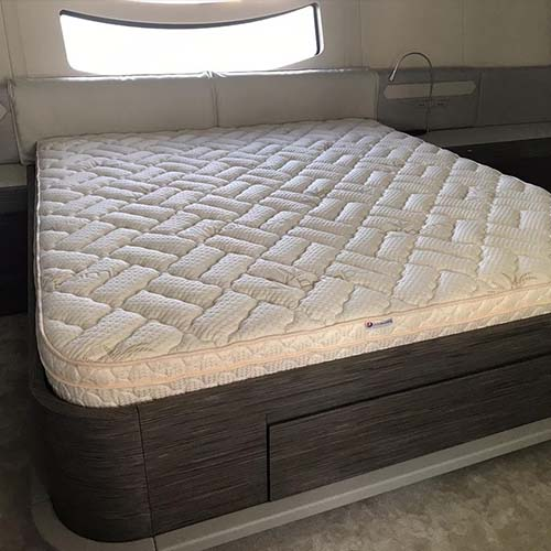 The Admiral 9″ Latex Pillow Top Boat Mattress