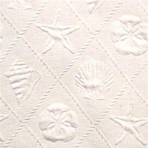 Trellis Cream Bedcover & Shams