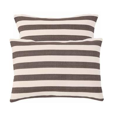 Custom Boat Pillows: Striped Indoor Outdoor Pillows