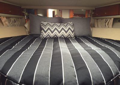 Strips and Chevron Bedding