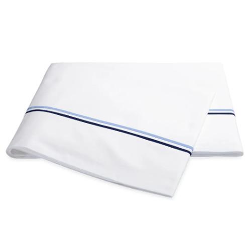 Matouk Essex Navy Sheets