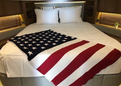 Sea Ray 510 Fly Guest Custom Bedding